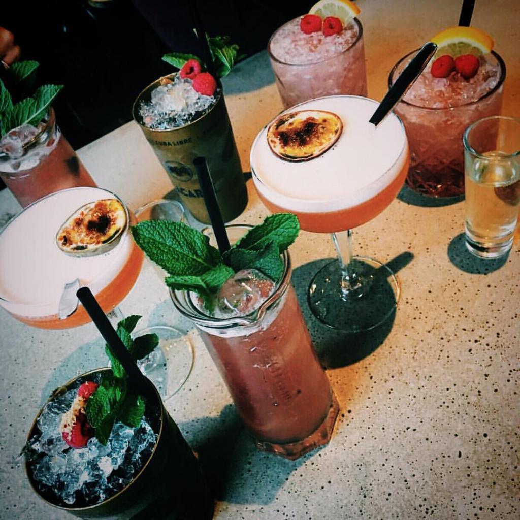 Monk Bar Drinks